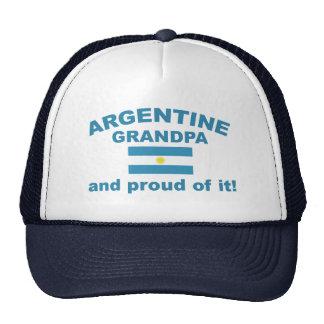 Proud Argentine Grandpa Cap