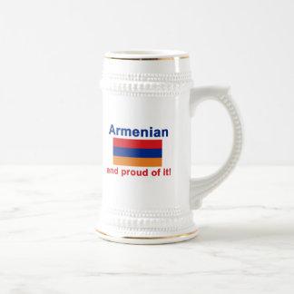 Proud Armenian 18 Oz Beer Stein