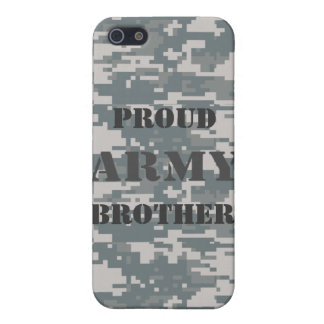 Proud Army Brother Camouflage Speck Case iPhone 5/5S Case
