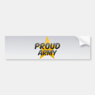 Proud Army Bumper Stickers