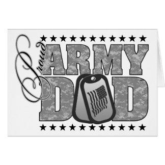 Proud Army Dad ACU Greeting Card