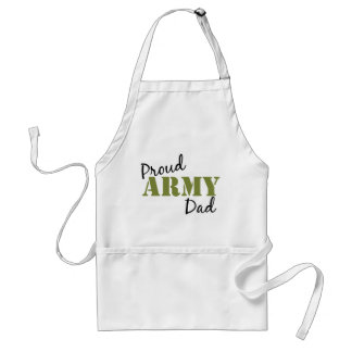 """""""Proud Army Dad"""" Apron"""
