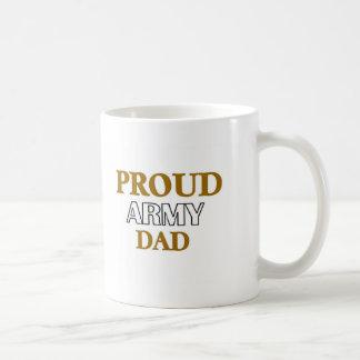 Proud Army Dad Basic White Mug