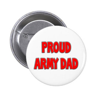 Proud Army Dad Buttons