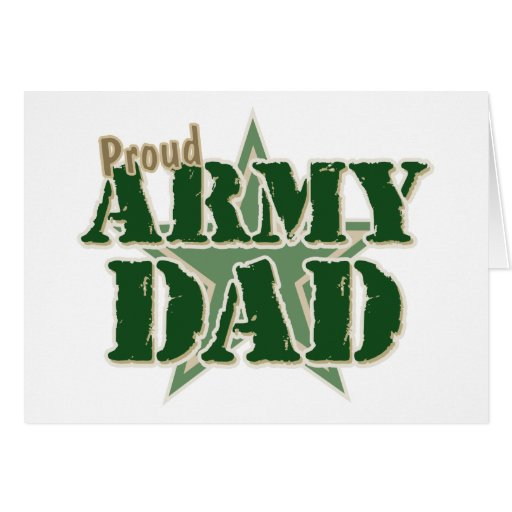 Proud Army Dad Cards