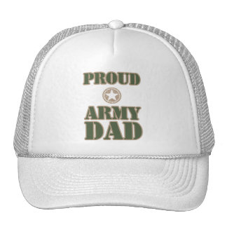 Proud Army Dad Mesh Hat