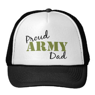 """""""Proud Army Dad"""" Hat"""