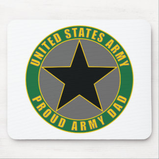 Proud Army Dad Mouse Mat