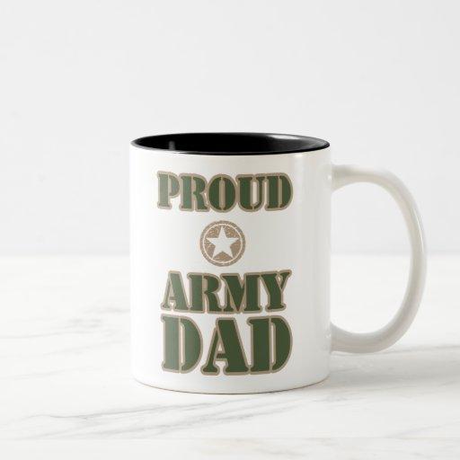 Proud Army Dad Coffee Mug