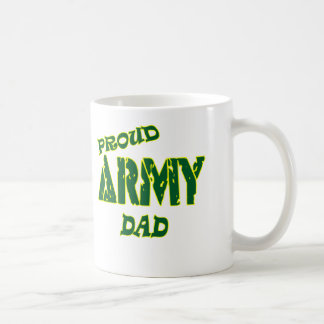 Proud Army Dad Coffee Mugs