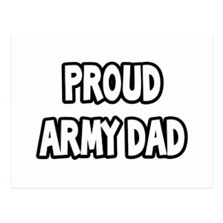 Proud Army Dad Post Cards