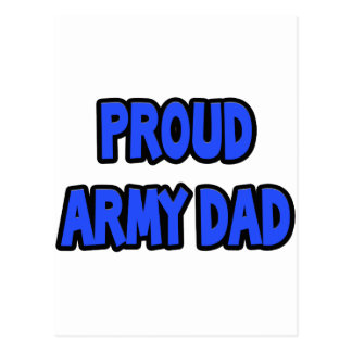 Proud Army Dad Postcards