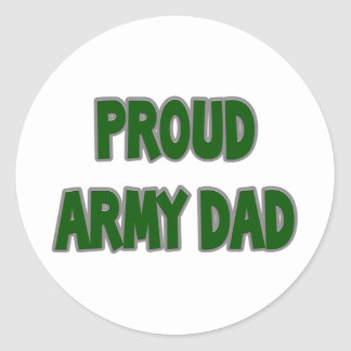 Proud Army Dad Stickers