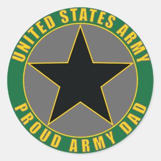 Proud Army Dad Sticker