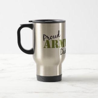 """Proud Army Dad"" Travel Mug"