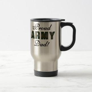 Proud Army Dad Travel Mug