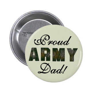 Proud Army Dad Tshirts and Gifts Button
