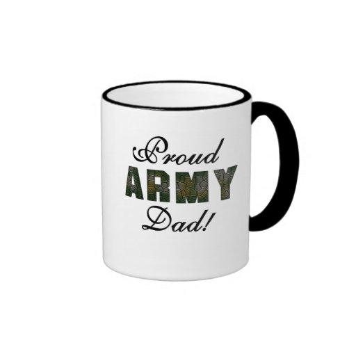 Proud Army Dad Tshirts and Gifts Coffee Mug