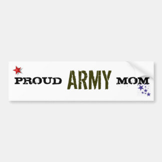 PROUD ARMY MOM BUMPER STICKERS