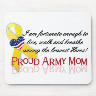 Proud Army Mom Mouse Pad