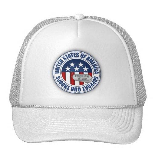 Proud Army National Guard Veteran Trucker Hat