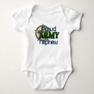 Proud ARMY Nephew Baby Bodysuit