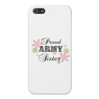 Proud Army Sister fl c iPhone 5 Covers