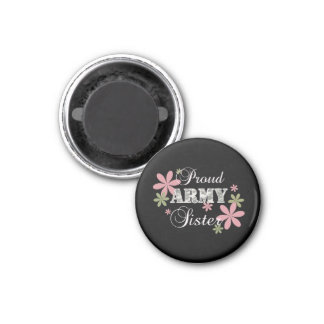 Proud Army Sister [fl c] Magnet