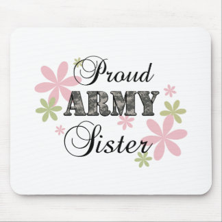 Proud Army Sister fl c Mouse Pad