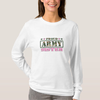 Proud Army Sister Long Sleeve Shirt