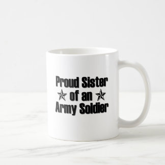 Proud Army Sister Coffee Mugs
