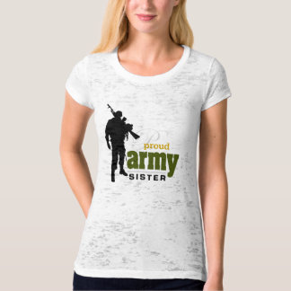 Proud Army Sister Tee Shirts