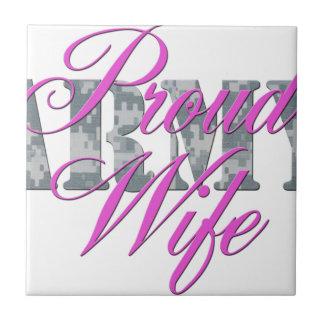 proud army wife acu ceramic tiles