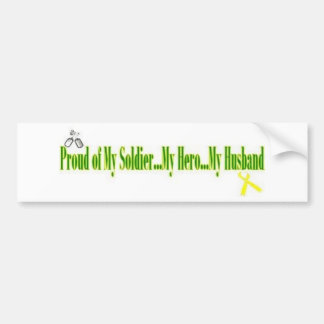 Proud Army Wife Bumper Sticker