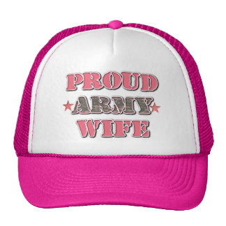 Proud Army WIfe Cap