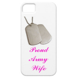 proud army wife iphone case