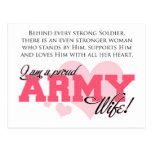 Proud Army Wife Postcards