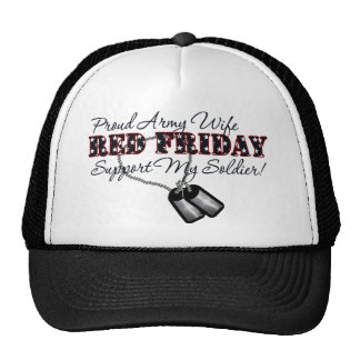 Proud Army Wife (Support My Soldier) Hat