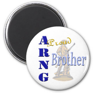 Proud ARNG Brother Magnet