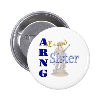 Proud ARNG Sister Pinback Buttons