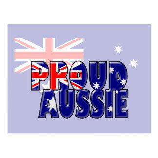 proud Aussie Postcard