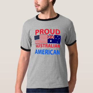 Proud Australian American Tshirt
