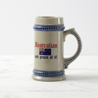 Proud Australian Coffee Mugs