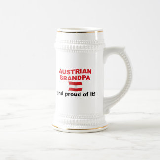 Proud Austrian Grandpa Mugs
