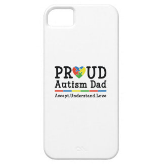 Proud Autism Dad Barely There iPhone 5 Case
