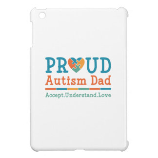 Proud Autism Dad iPad Mini Covers