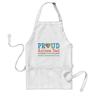 Proud Autism Dad Standard Apron