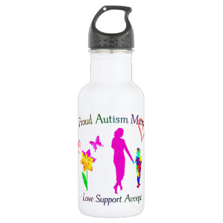 Proud Autism Mom 532 Ml Water Bottle