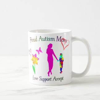 Proud Autism Mom Coffee Mug