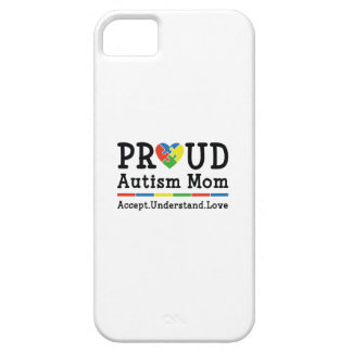 Proud Autism Mom iPhone 5 Cover